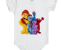 Sesame Street has arrived Onesie, Sesame Street Bodysuit, Baby Onesies cute ,Gift baby onesies