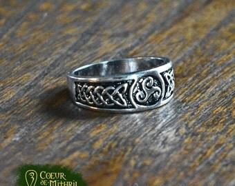 Triskel Celtic Ring