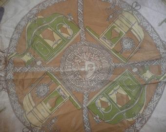 Loredano vintage Beautiful silk scarf Italy