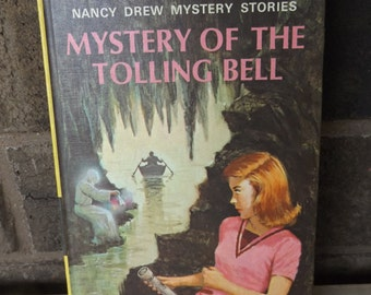 Nancy Drew Book #23 Mystery of the Tolling Bell / 25 Chapters (#331)