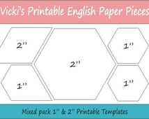 Dynamite image pertaining to free printable english paper piecing templates