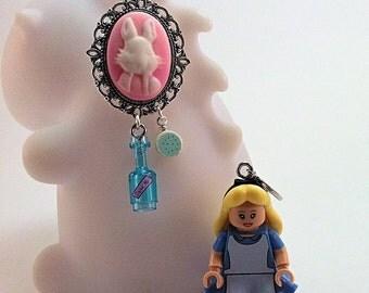 Earrings Alice rose