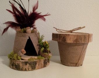 Fairy Teepee Kit: Fall Foliage