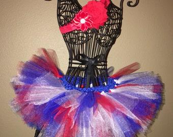 All American Girl newborn tutu set