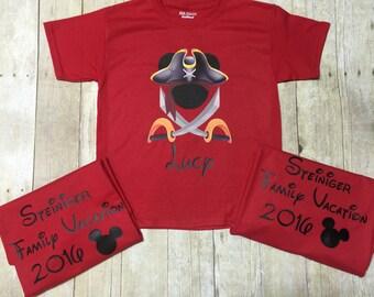 Disney Mickey Pirate Shirt