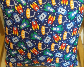 Rocket fabric etsy for Rocket fabric