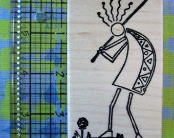 Kokopelli golfer by copperleaf designs