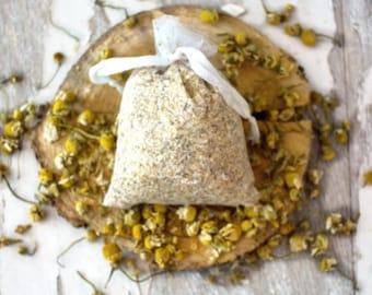 Chamomile Bath Tea - Vegan Bath Tea - Chamomile Bath Soak - Chamomile Tub Tea - Herbal Bath - Organic Bath Tea - Bath Tea Bag - Gift for Her
