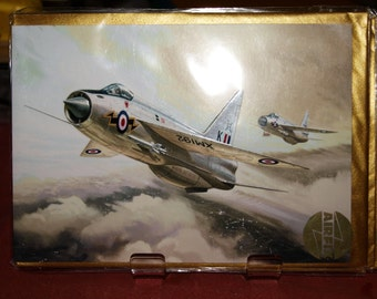 English Electric Lightning Card
