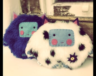 Cute Yeti plush friends, handmade fuffly toys\softie