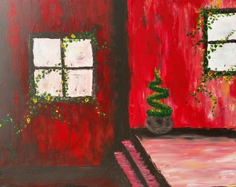 Sale - Artist Study - Red Villa