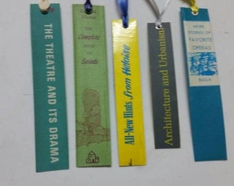 Bookspine bookmark collection 12
