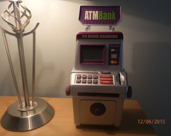 Electronic Piggy Bank Coin Counter Machine Bank