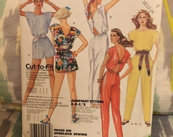 Awesome Eighties Jumpsuit: McCall's   2481