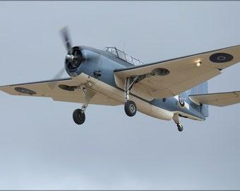 24x36 Poster . Grumman Tbf-1C Avenger