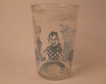 Howdy Doody 1953 Welch's Jelly Glass