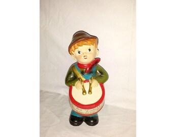 Vintage Little Drummer Boy Musical Figurine, Little Drummer Boy Music Box, Christmas Music Box, Vintage Christmas, Christmas Decor, Music