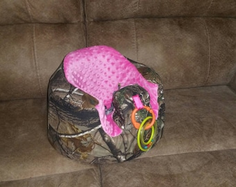Bumbo Seat Slip Cover, Baby Chair Cover, Camo Baby Seat Cover, Mossy Oak Floor Seat Cover, Muddy Girl Bumbo Cover, Realtree Camo Seat Cover