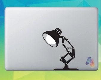 Lamp Apple Macbook Decal