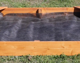 Brand New Child's Corner Bench Sandbox, 4 Feet Square - Free Shipping