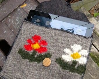 IPad case made from up cycled sweaters
