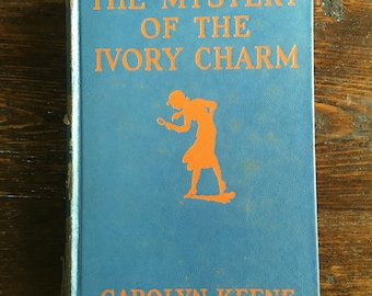 Wartime The Mystery of the Ivory Charm / Nancy Drew by Carolyn Keene