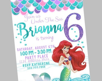 Under The Sea Party Invitations as nice invitations sample