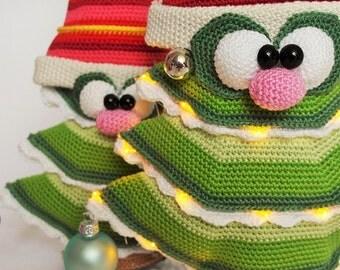 fir trees crochet pattern by mala designs