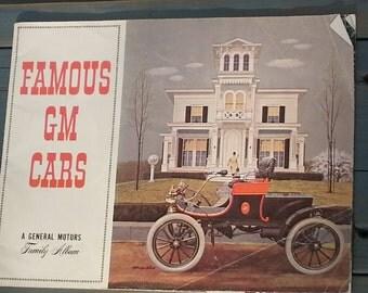 Famous GM Cars (General Motors Family Album) - 1962