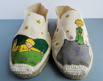 The little Prince canvas sneakers