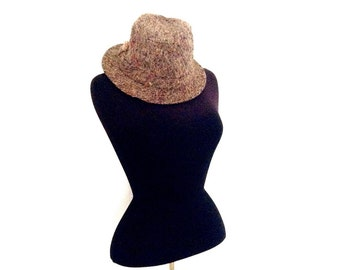 Irish wool tweed hat