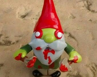 Halloween 'zombie pocket gnome'. Very gruesome!