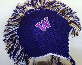 UW Huskies Mohawk hat