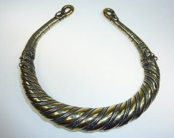 Tribal Neckring, Vintage Tribal-Neckring from the Swat-Valley, Kuchi, Tribaljewelry, Nomad Jewelry