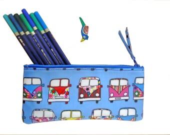 Trousse scolaire- trousse enfant -pochette avec zip-