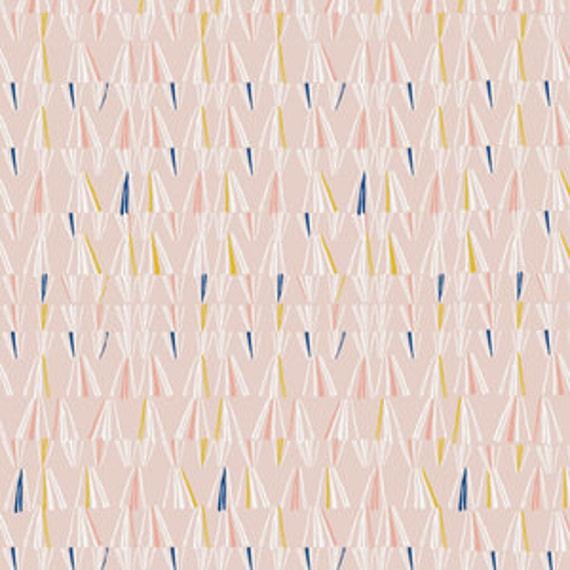Organic Crib Sheet - 'Lore' Mythose in Pink - MADE-to-ORDER