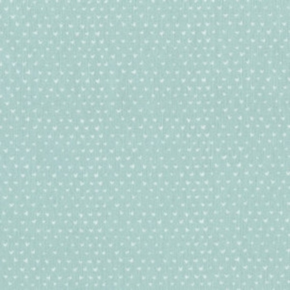 Crib Sheet >> Wee Gallery Hearts in Mint >>  MADE-to-ORDER aqua baby bedding, blue toddler sheet set, gender neutral bassinet, mini crib