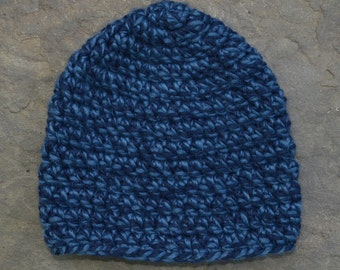 Denim Twist Beanie