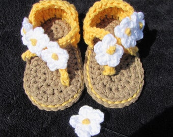 Flowery sandles