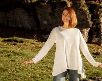 Soft hemp sweater