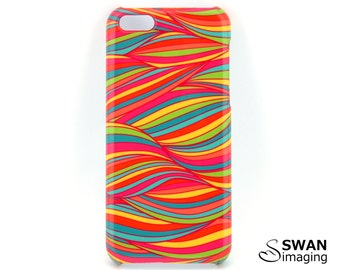 Coloured Ribbons Phone Case - iPhone X, 8, 8 Plus, 7, 7 Plus, SE, 5S, 6/6S, 6/6S Plus + Samsung Galaxy S9, S9 Plus, S8, S8 Plus, S7, Note 8