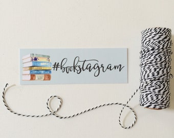Bookstagram Bookmark, bookish bookmark,