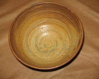 Medium Size Stoneware Bowl