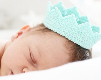 Baby crochet Crown -