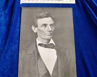 1960's Jumbo Abraham Lincoln Postcard