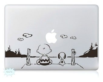 Child and Dog Decal Mac Stickers Macbook Decals Macbook Stickers Apple Decal Mac Decal Stickers Laptop Decal