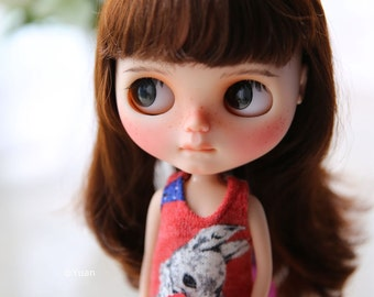 Yuan's Blythe dress /outfit /clothe/handmade/licca/doll/rabbit