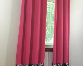 Masterfully-crafted and eye-popping custom drapes. Many colors/sizes availiable