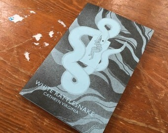 White Rattlesnake - Risograph Zine