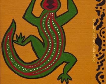 Dizzy the Lizard